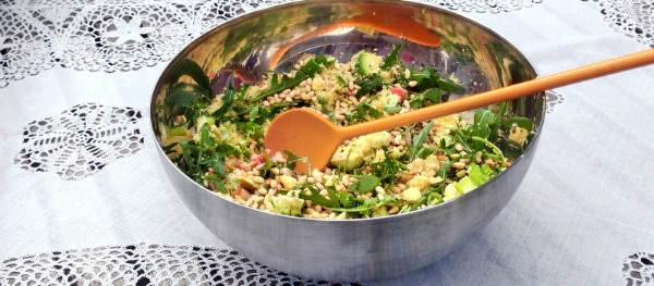 camping recipe couscous