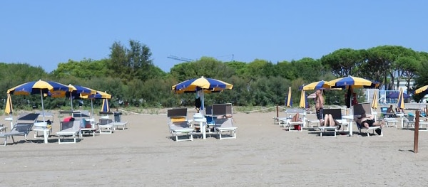 Beach at Camping Village Cavallino