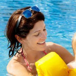 babyzwemmen vakantie