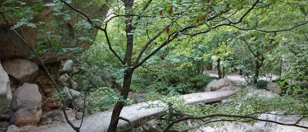 Wandelroute in nationaal park Paklenica