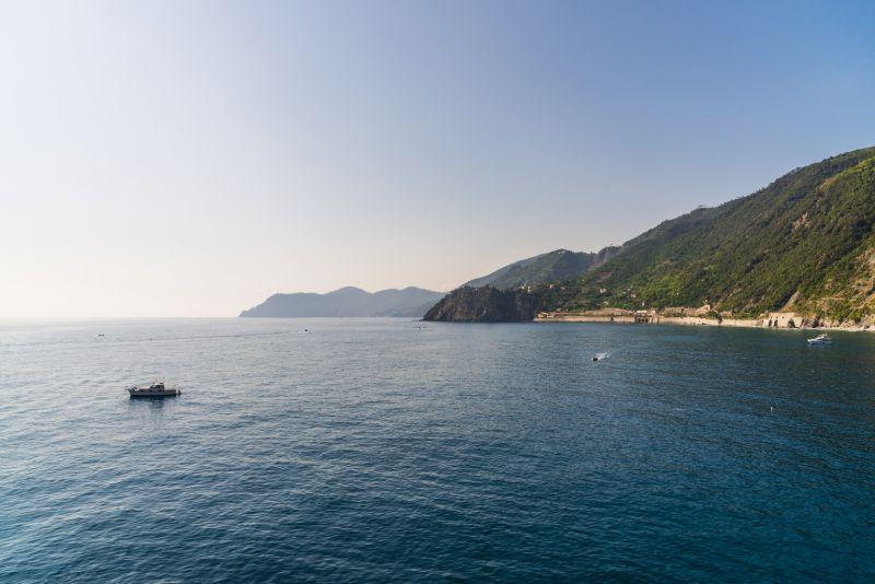 Boat trip Ligurian coast