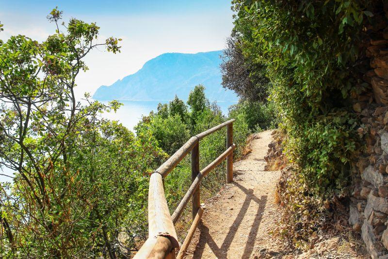Hiking through Cinque Terre