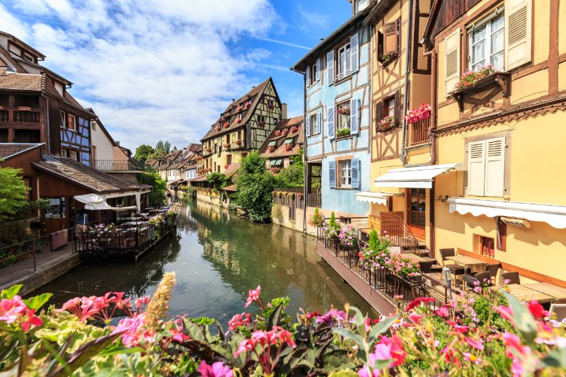 Romantic camping near Colmar. Taste the romance in this historic area that's called 'Little Venice' for a reason