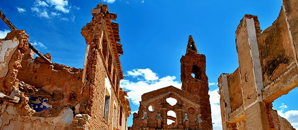 Ghost town - Belchite, Spain