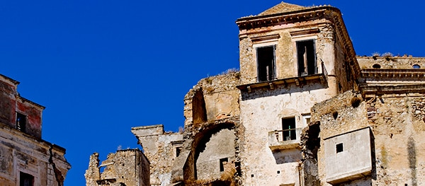 Ghost town - Craco, Italy