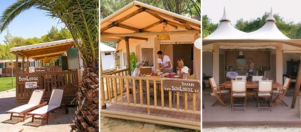 SunLodge mobile home, safari tent and RoyalLodge