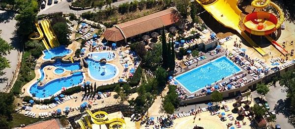 Aquapark Campsite Domaine le Pommier France