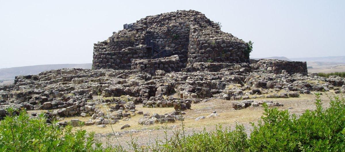 Nuraghi, ancient fort ruins.
