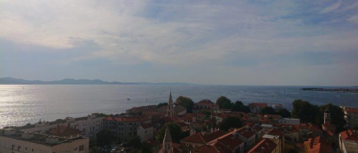 Uitzicht vanaf St. Anastasia-kathedraal