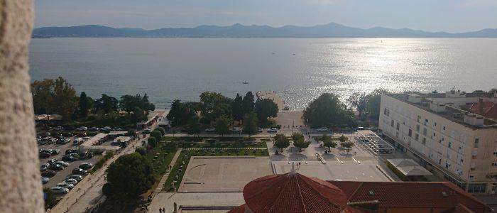 Zadar van bovenaf